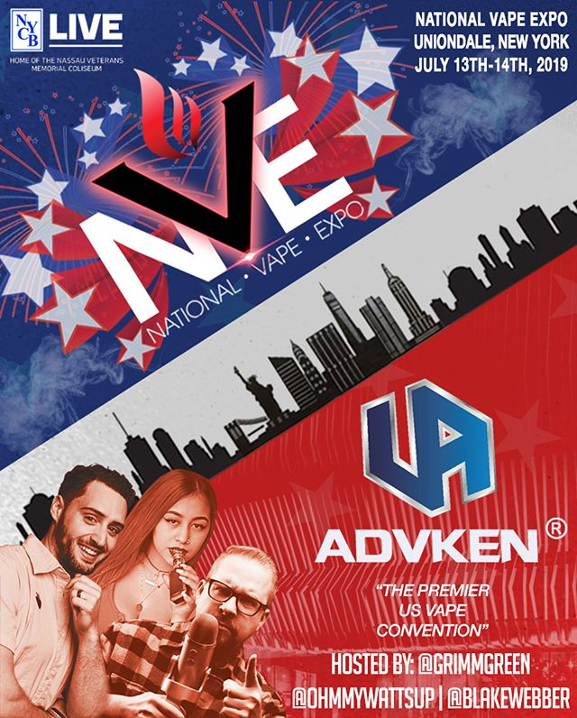 Advken 2019 National Vape Expo-Nassau Coliseum, NY