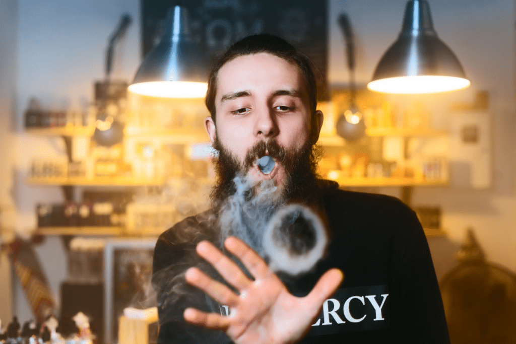 Play tricks for vaping