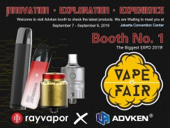 Come and Meet Us at The Upcoming–Vape Fair