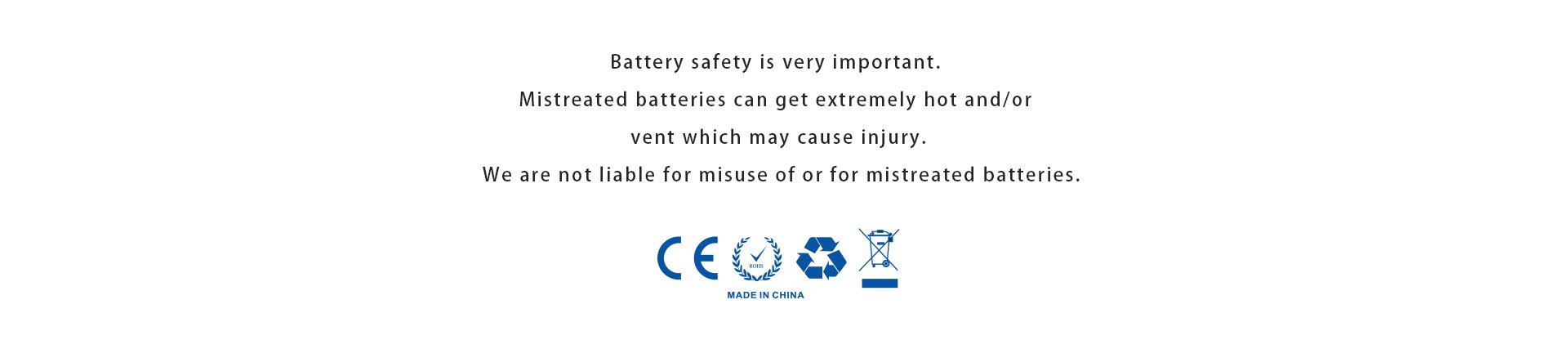 Advken 21700 Battery safety