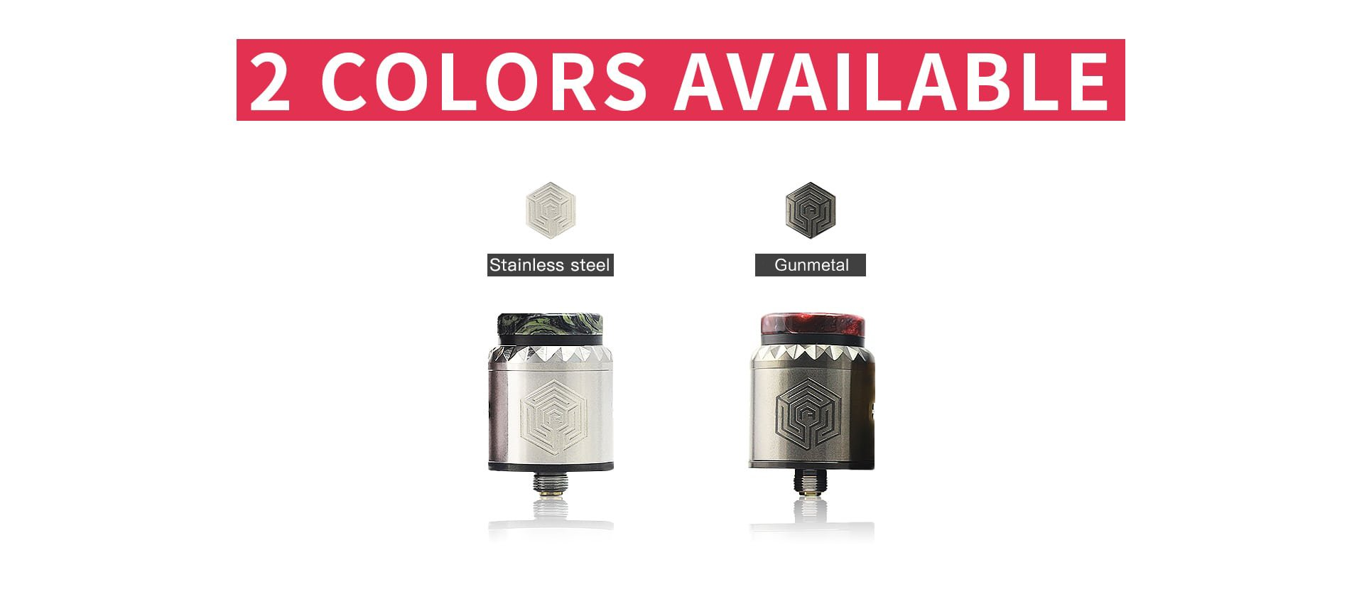 Advken Artha V2 RDA colors